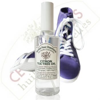 Parfum désodorisant pour chaussures - Citron-Tea tree oil - Ceven'Arômes