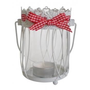 Lanterne photophore ronde Esprit campagne - Cécilia création