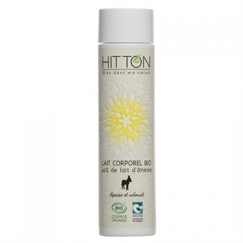 Lait corporel bio 40% lait d'ânesse  HITTON