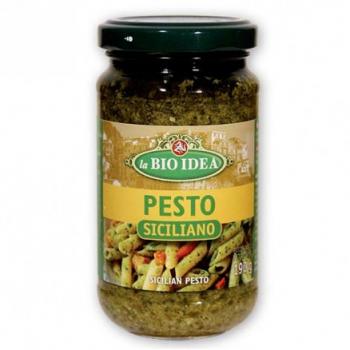 Pesto siciliano 190g--la bio idea