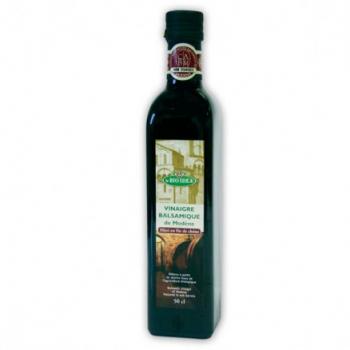 Vinaigre balsamique de modène 50cl--la bio idea
