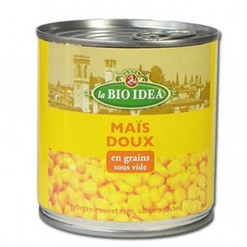 Maïs doux en grains 340g--la bio idea