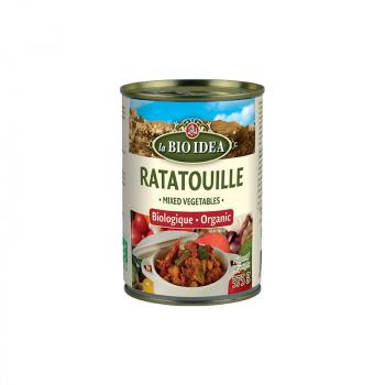 Ratatouille boîte métal 375g--la bio idea