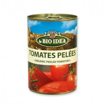 Tomate pelée 800g (boîte métal)--la bio idea