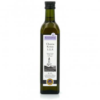 Huile d'olive igp chania kritis - grèce  BIO PLANETE