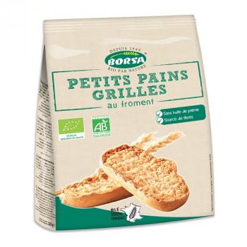 Biscottes farine complète ss sel/ss sucre 36 tranches 300g--borsa