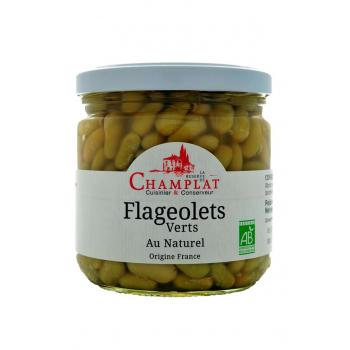 Flageolets verts au naturel 520g CHAMPLAT