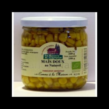 Maïs doux au naturel 240g CHAMPLAT