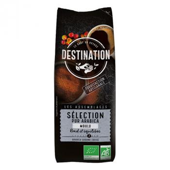 Café 100% arabica equitable moulu filtre 250g-- DESTINATION