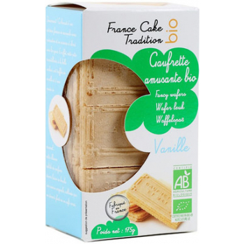 Gaufrettes amusantes vanille175g--france cake tradition