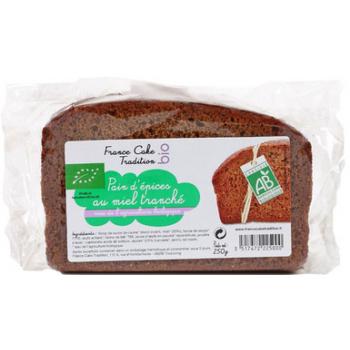 FRANCE CAKE TRADITION - Pains d'épices BIO au miel et sirop de betteraves Haut de France