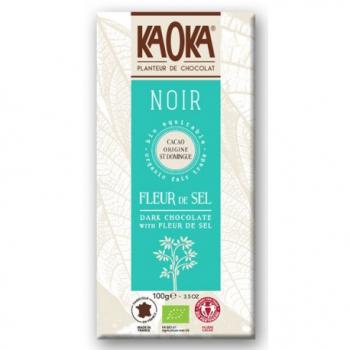 Simply noir, chocolat noir 61% cacao 80g--kaoka