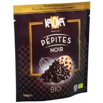 KAOKA - PÉPITES DE CHOCOLAT NOIR 50% 100G