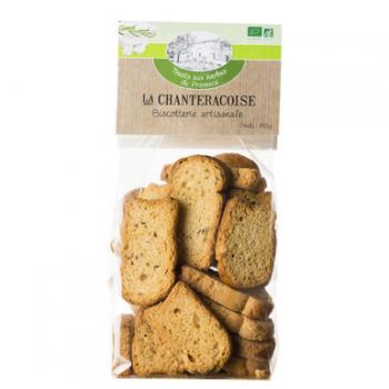 Toasts aux herbes de provence  140g--la chanteracoise
