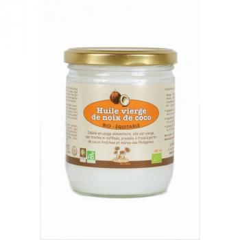 LA MAISON DU COCO Huile vierge de coco bio & équitable 780 ml