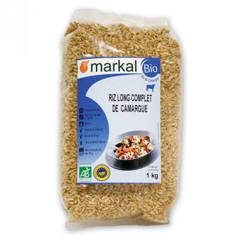 Riz long complet de camargue 1kg MARKAL
