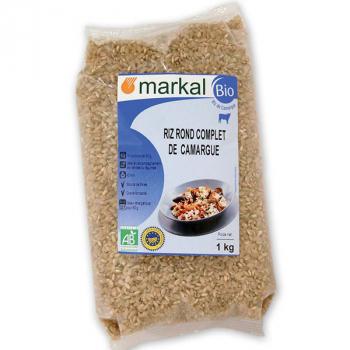 Riz rond complet de camargue 1kg MARKAL