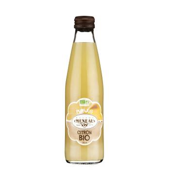 Pur jus de fruits bio citron 25cl MAISON MENEAU