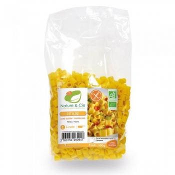 Ditalini Maïs/ Riz Sans Gluten 500G  Nature & Cie