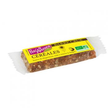 Barre céréales / céréales 40g--perl'amande