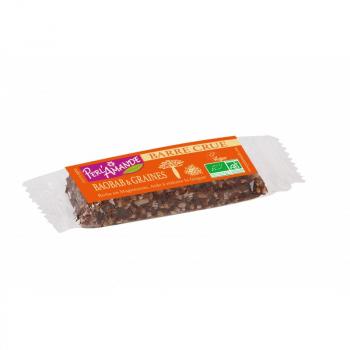 Barre céréales baobab&graines 40g--perl'amande