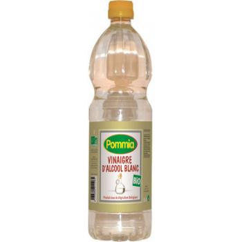POMMIA - VINAIGRE D'ALCOOL BLANC 6° 1L