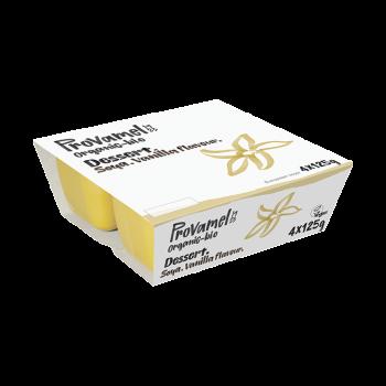 Soja dessert vanille 4x125g PROVAMEL