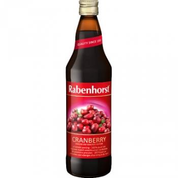 Jus de cranberry 75cl - RABENHORST