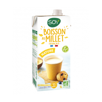 Boisson au millet français 1l  Soy