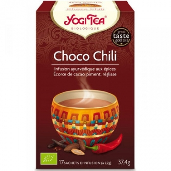 Infusion choco chili 17 infusettes 37,4g - YOGI TEA