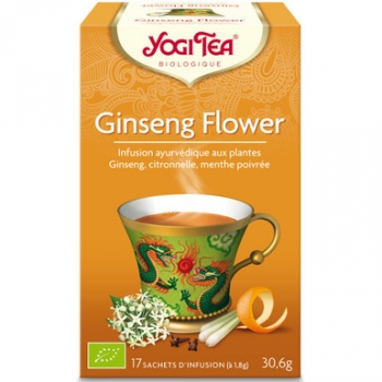 Infusion ginseng 17 infusettes 30,6g - YOGI TEA