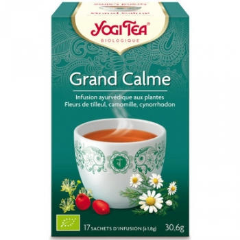 Infusion grand calme 17 infusettes 30,6g - YOGI TEA