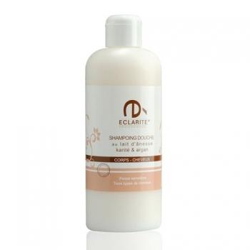 Shampoing douche au lait d'ânesse karité & argan - 200 ml - Eclarité