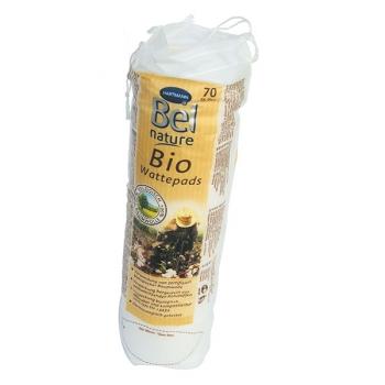 Paquet de 70 Disques à Démaquiller 100 % coton bio- BEL NATURE