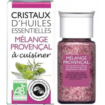 AROMANDISE - Cristaux d'huiles essentielles Mélange Provençal bio 10g