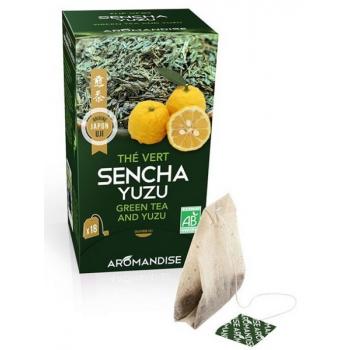 Sencha de uji et yuzu infusettes, 36 g