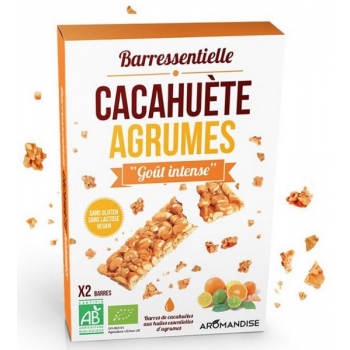 Barre cacahuète agrumes, 50 g