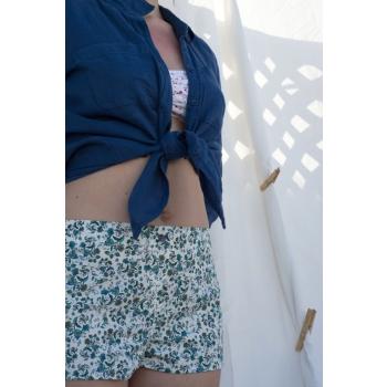 Shorty en coton écologique Elise