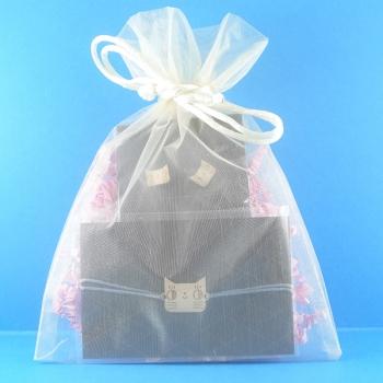 Pochette cadeau-Bijoux-Puces d'oreilles + Bracelet-Chats- LES FOLLES MARQUISES