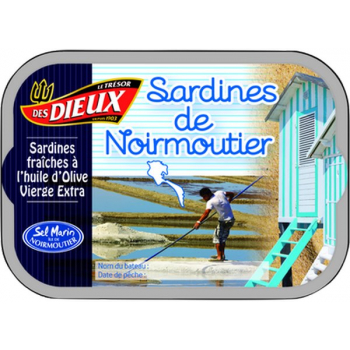 Sardines de Noirmoutier, 115 g
