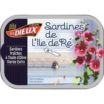 Sardines de l'île de Ré, 115 g