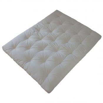 Matelas Futon Traditionnel - Revêtement 70% lin 30% coton