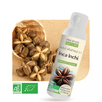 Huile végétale d'Inca Inchi BIO