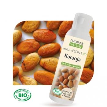 Huile végétale de Karanja Bio