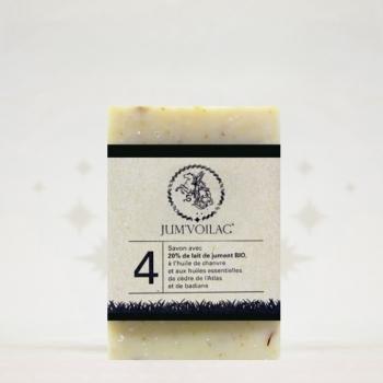 JUM'VOILAC – Savon au lait de jument numéro 4