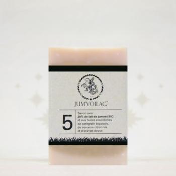 JUM'VOILAC – Savon au lait de jument numéro 5