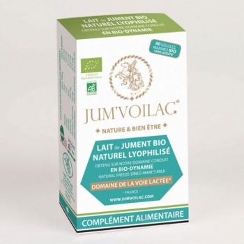 JUM'VOILAC – Lot de 6 boîtes de 60 gélules de lait de jument