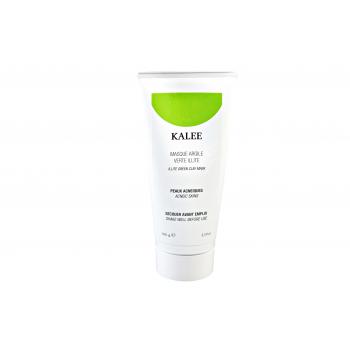 Masque argile verte illite pour peaux acnéiques