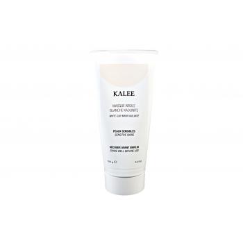 Masque argile blanche kaolinite anti-rides resserre les pores