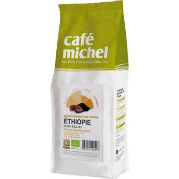 Café en grains ARABICA pure origine ETHIOPIE - Moka Sidamo, 500 g